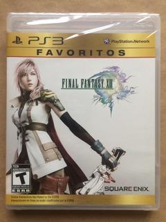 Final Fantasy Xiii Ps3. Nuevo Sellado, Envíos