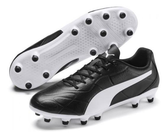 Botin Futbol Sintetico Puma Monarch Fg 105610-01 Yandi