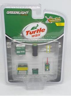 Greenlight Turtle Wax Shop Tool Accessories Diorama 1:64