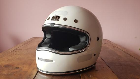 Capacete Urban Helmet Big Bore Branco 56/57