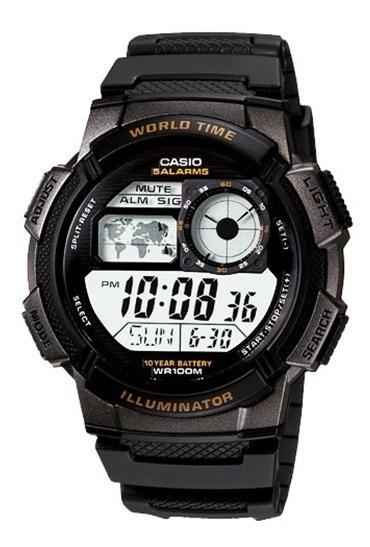 Relógio Casio Masculino Ae-1000w-1av Original 1 Ano Garantia