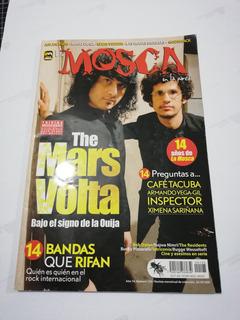 Revista La Mosca En La Pared Mars Volta (último Número)