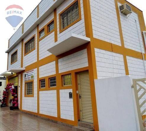 Imagem 1 de 4 de Salão Para Alugar, 540 M² Por R$ 7.000,00/mês - Jardim Floresta - Atibaia/sp - Sl0063