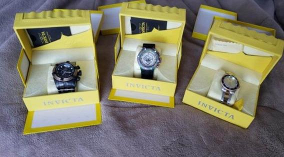 3 Relógios Invicta Originais