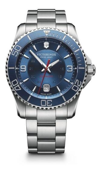 Relógio Victorinox 241706 Maverick Prata Original