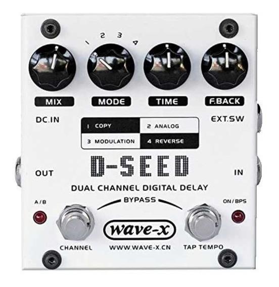 Pedal Guitarra Joyo D-seed Dual Channel Delay - Envio Em 24h