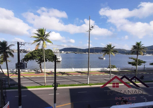 Apartamento 2 Dormitórios - Vista Mar - Ponta Da Praia - Santos - 5109