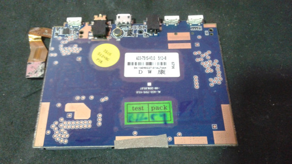 Placa Tablet Pci A33-751s-v3.0 - Não Liga