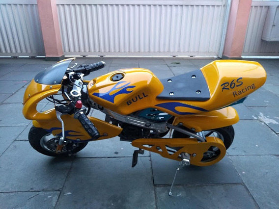 Mini Moto A Gasolina 49cc Motor 2 Tempos