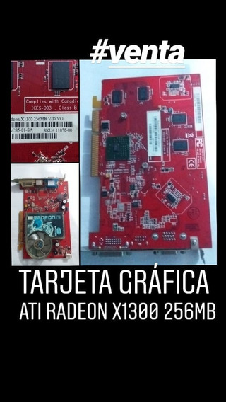 Tarjeta Grafica Ati Radeon X1300 256mb