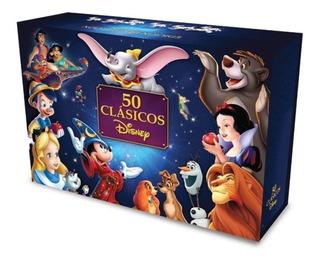 Dvd Paquete 50 Clásicos De Disney