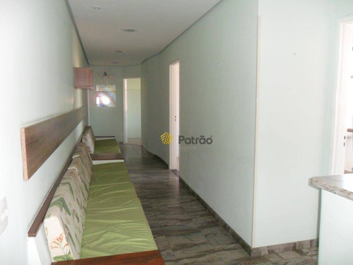 Imagem 1 de 24 de Sala, 76 M² - Venda Por R$ 350.000,00 Ou Aluguel Por R$ 2.600,00/mês - Centro - São Bernardo Do Campo/sp - Sa0438