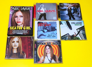 Avril Lavigne - Pack Cd Dvd 7 Artículos Usados Envío Gratis