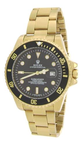 Imagen 1 de 7 de Reloj Submariner Acero Inoxidable Contra Agua Fechador Gs