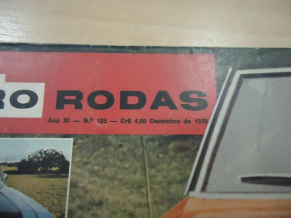 Revista Quatro Rodas Nº.125 Ano 1970 - Envio Grátis