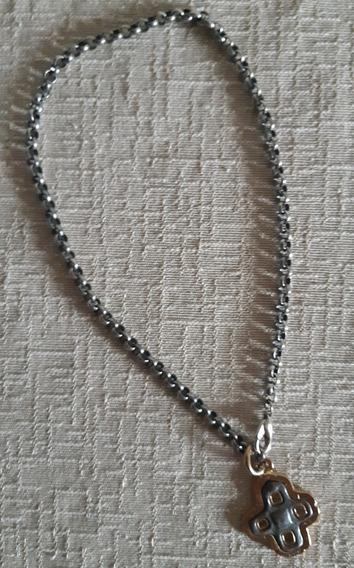 Corrente Metal Elos - Pingente - Bijoux