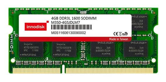 Memoria Innodisk Ddr3l 4gb 1600 Mhz Sodimm