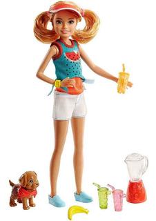 Muñeca Barbie Set Stacie Mattel