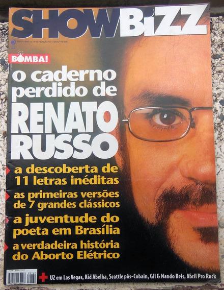 Revista Showbizz Nº 142 Renato Russo U2 Gilberto Gil 1997