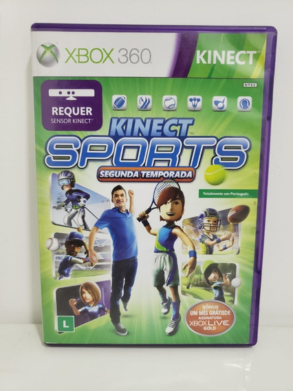 Jogo Para Xbox 360 Kinect Sports 2 Seminovo Original