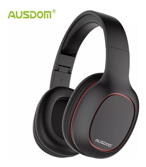 Fone Ouvido Ausdom M09 Bluetooth Micro Sd - Pronta Entrega