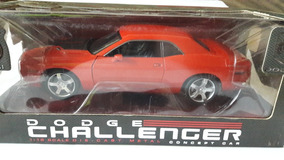 Miniatura Do Dodge Challenger Highway 61 Laranja