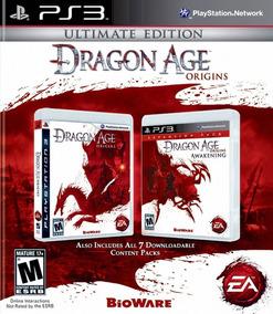 Jogo Dragon Age Origins Ultimate Edition Ps3 Frete Grátis