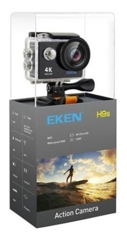 Camera Eken H9s 4k Original Wifi+cartão 32gb Classe 10