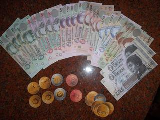 Billetes Y Monedas Uruguayas Didactic ( Actuales Para Juego)
