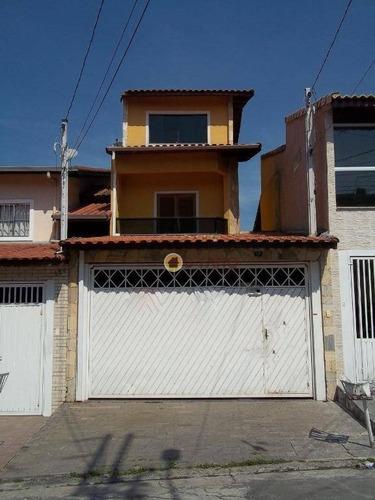 Sobrado Com 4 Dormitórios À Venda Por R$ 435.000,00 - Parque Continental I - Guarulhos/sp - So0635