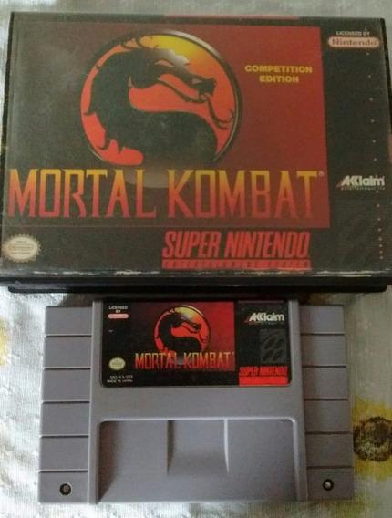 Mortal Kombat Original - Frete Grátis Por Cr