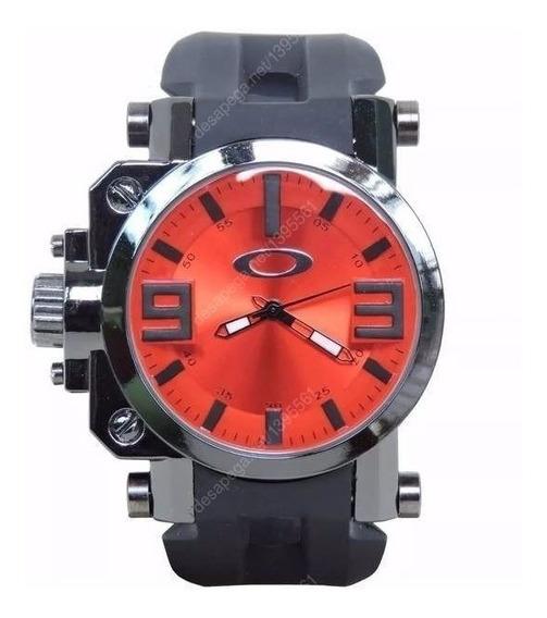 Relógio Masculino Oakley Gearbox C/ Caixinha