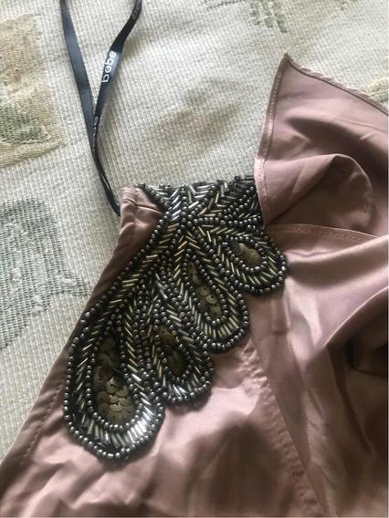 Mono Pantalón De Satén Importado De Usa Talle S Marca Bb2b