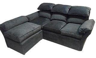 Sillon Sofa Rinconero Boston 3 Cuerpos X 2 Mts
