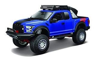 Miniatura Ford F-150 Raptor (desing) Azul 1:24 Maisto