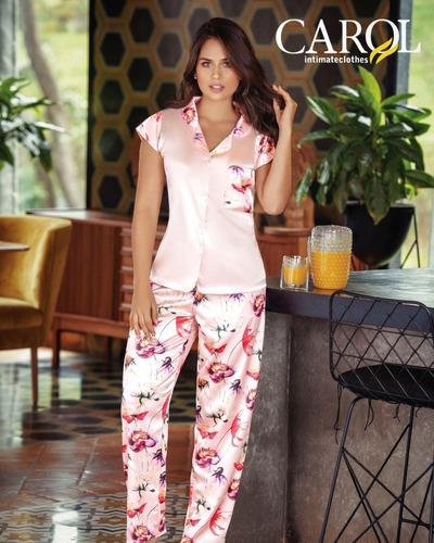 Ref 679 Carol - Pijama En Satin Para Mujer