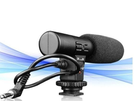 Microfone For Studio Digital Video Stereo Recording