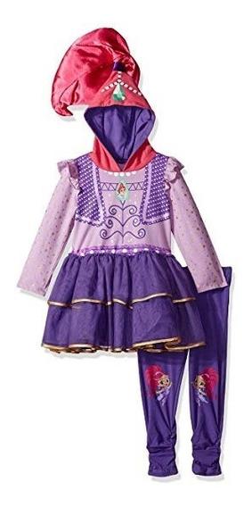 Disfraz Importado Para Niña De Shimmer Y Shine 5-6