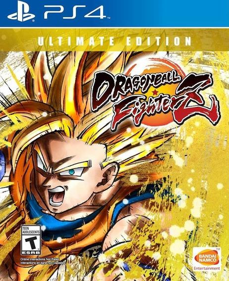 Dragon Ball Fighterz Ultimate Edition Ps4 Digital 1 Psn