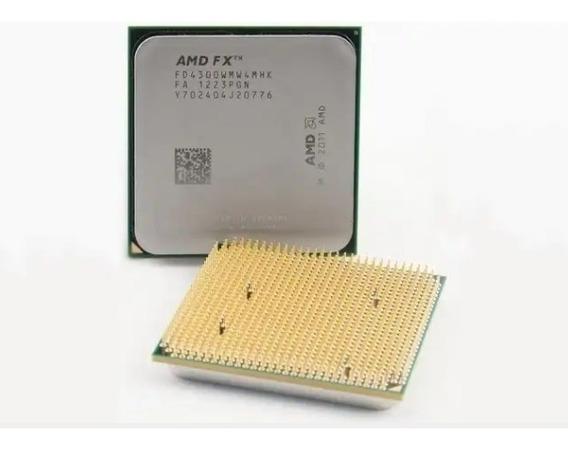 Processador Amd Fx 4300 + 8gb De Memória Ram Dd3