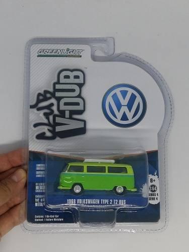 Greenlight Club V-dub Vw 1968 Volkswagen Type 2 T2 Bus 1:64