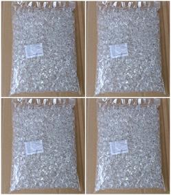 Pedrarias Cristal Facetado Acrílico 8mm 10mm 12mm Pacote 2kg