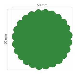 Furador Círculo Escalopado 5cm + Liso 3,8cm + Escalop 2,5cm