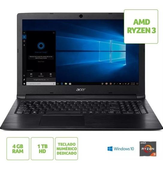 Notebook Gamer Acer A315-41 Amd Ryzen 3 4gb 1tb