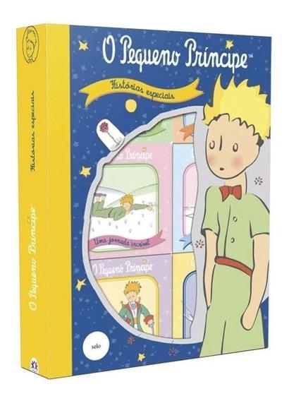Box C/ 6 Mini Livros Cartonados - O Pequeno Príncipe