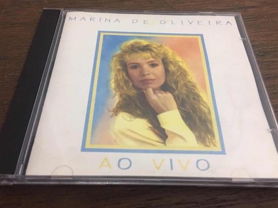 Cd Marina De Oliveira Ao Vivo Mk Publicitá Original 335
