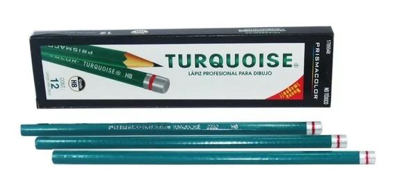 2 Lápiz Profesional Para Dibujo Turquoise