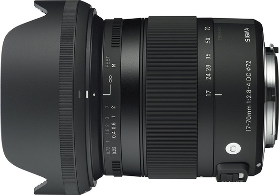 Sigma 17-70mm F2.8-4 Dc Macro Os Hsm ( Canon ) Contemporary