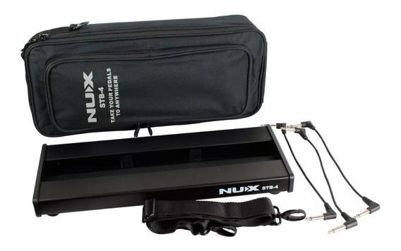 Pedalboard Nux Stb-4 Para Pedais