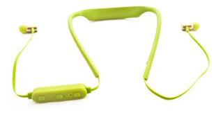 Mow! Auricular Bluetooth In Ear Sport Verde Mw-carrera Con M